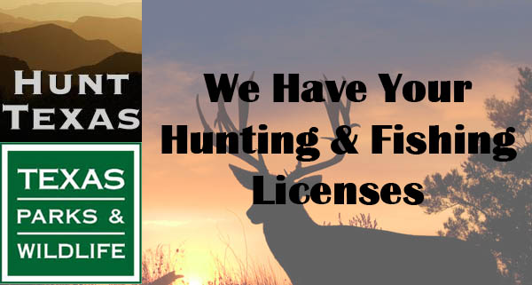 hunting and fishing license